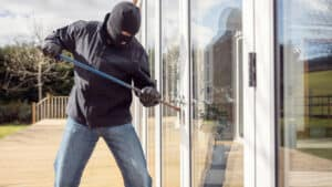 A man breaking into a house. Do you need to make a theft or burglary claim?